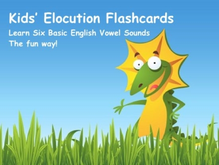Kids Elocution Flashcards Cover